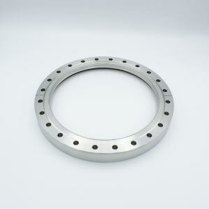 "UHV Viewport, UV Grade Fused Silica, Zero Length Profile, 7.78"" View Dia, 10.00"" Conflat Flange"