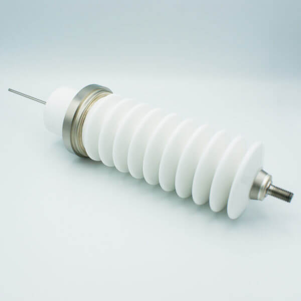 MPF - A20323-1-W: Power Feedthrough, 100KV, 6.5 Amps, 1 Pin, Stainless Steel Conductor, Weldable